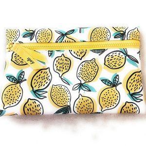🆕 Ipsy Lemon 🍋 Makeup 💄 Bag